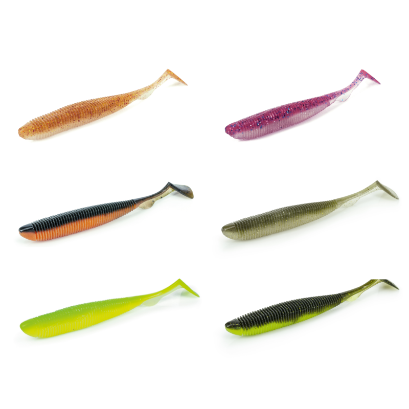 """Artificiale Real Action Shad 3.8/"""" Molix"""
